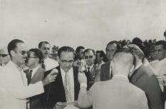 Comissão de Reaparelhamento Penitenciário - Inauguração do Presídio Central