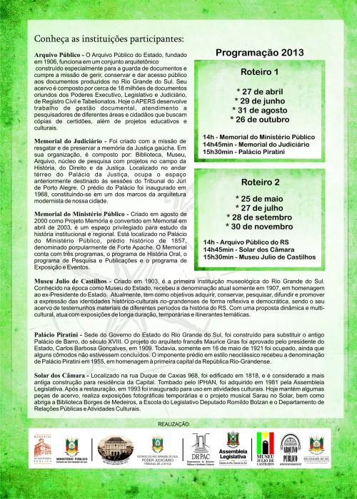 2013.04.24 Caminhos da Matriz - 2013 verso