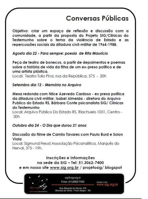 2013.08.21 Conversas Públicas APERS SIG