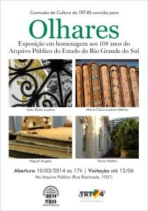 2014.03.12 Convite Exposição OLHARES
