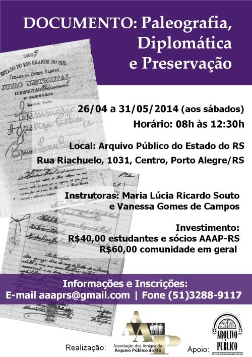 2014.03.19 AAAP Curso Paleografia