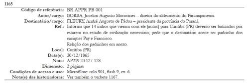 Verbete 1165