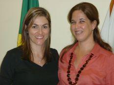 Renata e Profª Drª Dunia