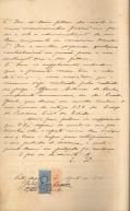 João e Lydia - Petição (verso)