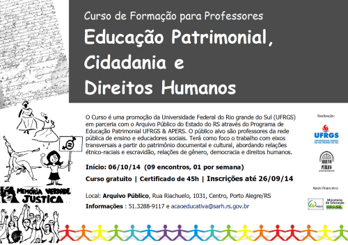Cartaz Curso Profs 2014