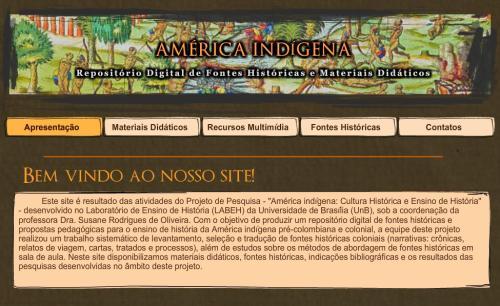 Site América Indígena