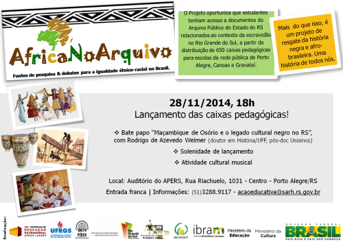 Cartaz final Lançamento AfricaNoArquivo