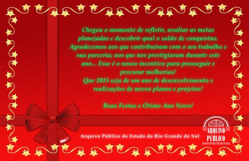 2014.12.24 Cartao Fim de Ano APERS