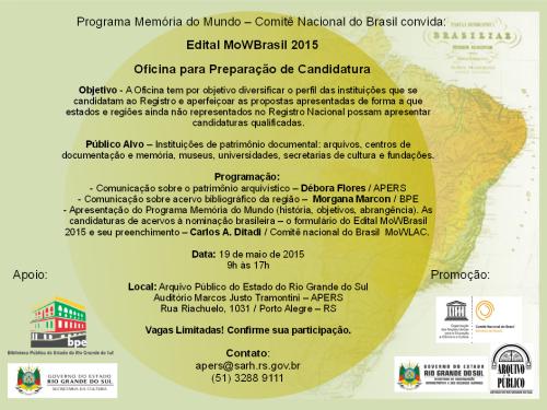 2015.04.29 Divulgacao Memoria Mundo Oficina