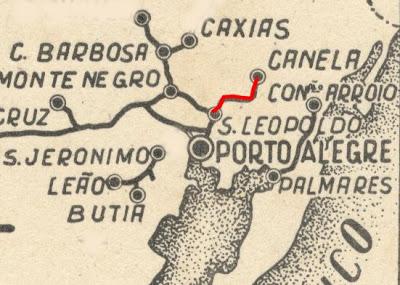 Mapa Ferrovias