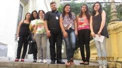 2015.08.10 visita guiada UFMG, FDRH, La Salle