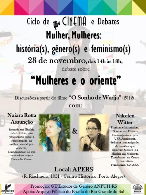 Cartaz-Mulheres e o Oriente divulgação