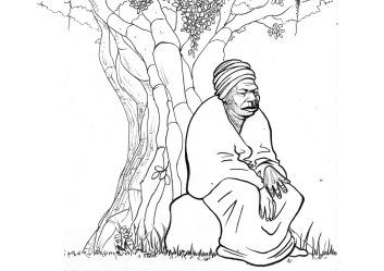 Maria, mais ou menos 90 anos, vinda da região do Congo (Alforria, Viamão, 1883)