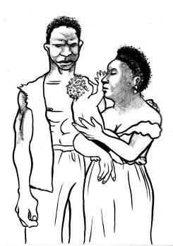 Jacinta, Vicente e Fortunato, família formada apesar da escravidão (Registro de compra e venda, 1848, Alegrete)