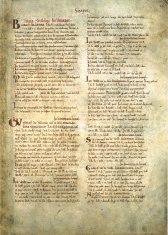 Domesday Book: documento governamental mais antigo do acervo. Espécie de senso solicitado pelo Rei Willian I, em 1086. Também analisado em uma proposta pedagócica.