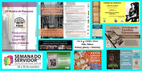 2016.01.27 Relatórios 2015 DIDOC - Exposições e eventos