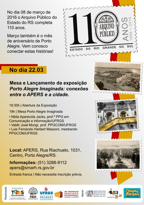 Cartaz Exposição POA Imaginada