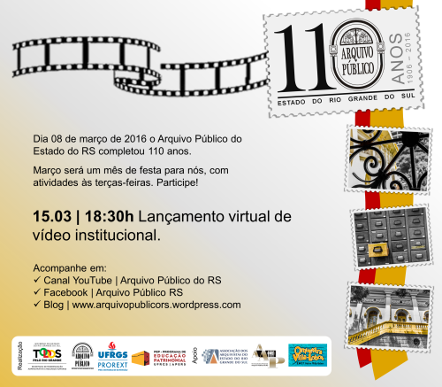 Cartaz Video Institucional