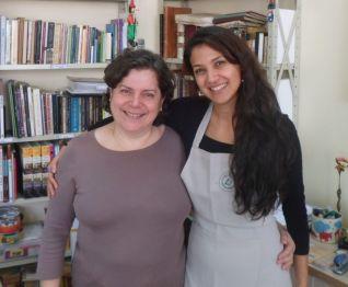Professora Silvia e Nova