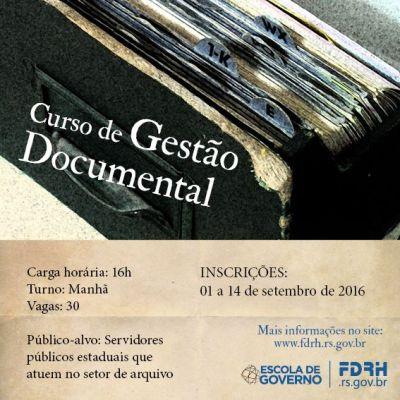 Curso Gestao Documental