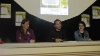 Mesa 2 - Patrimônio Documental e Cultural (Cleunice Schio, William Paiva e Luiza Inklman)