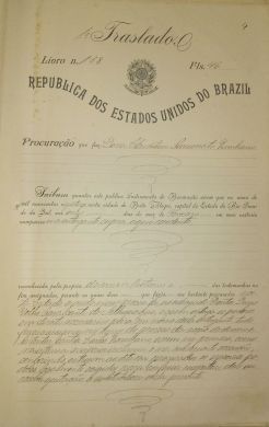 Documento sobre o divórcio