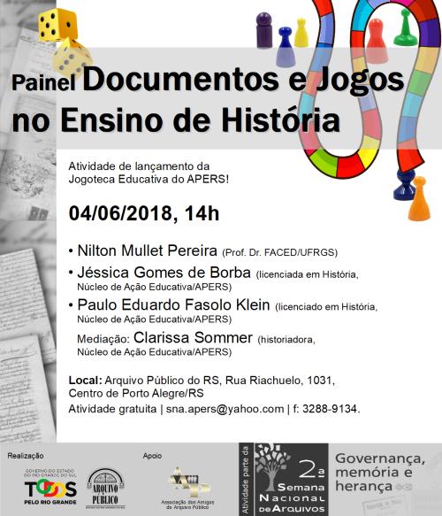 Cartaz Lançamento II Sem Nac de Arquivos