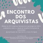 2018.11.12 Cartaz Encontro Arquivistas