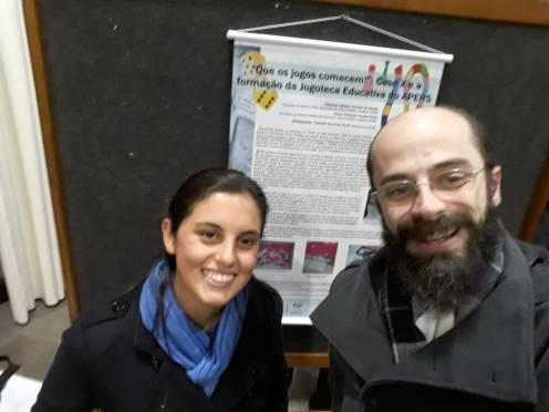 Jéssica Gomes de Borba e Paulo Eduardo Fasolo Klein