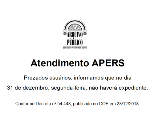 2018.12.26 Expediente APERS 31 DEZEMBRO