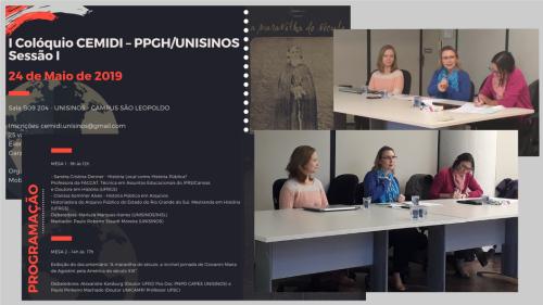 2019.06.12 História Pública em Arquivos na Unisinos