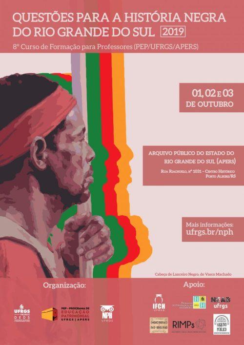 2019.08.07 Cartaz Curso História Negra PEP UFRGS APERS 2019