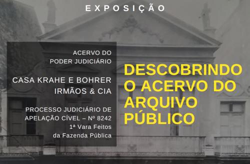 2019.09.04 Exposição Descobrindo o Acervo do APERS