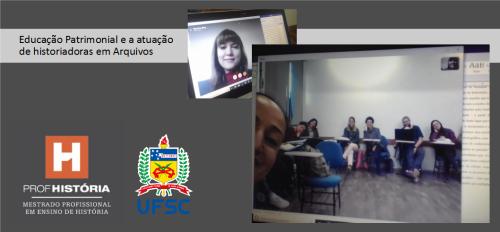 2019.09.04 Servidora em bate-papo virtual na UFSC