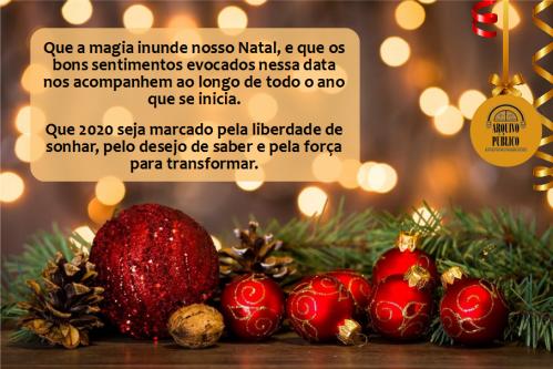 2019.12.23 Cartão de Natal