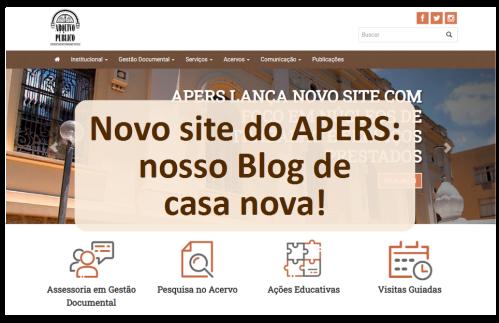 Nosso blog de casa nova
